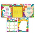 Trend Enterprises® Classroom Basics Dino-Mite Pals™ Learning Charts Combo Pack, Grade PreK - 3rd