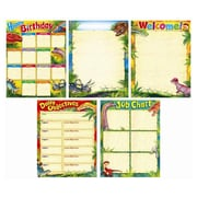 Trend Enterprises® Discovering Dinosaurs™ Learning Charts Combo Pack, Grade 1st - 8th