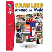 """On The Mark Press """"Families Around The World"""" Book, Grade 4th - 6th"""