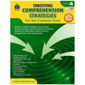 Teacher Created Resources in.Targeting Comprehension Strategies for the Common Corein. Book, Grade 4th