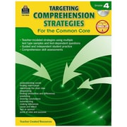 "Teacher Created Resources ""Targeting Comprehension Strategies for the Common Core"" Book, Grade 4th"