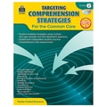 Teacher Created Resources in.Targeting Comprehension Strategies for the Common Corein. Book, Grade 6th