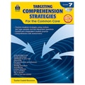 Teacher Created Resources in.Targeting Comprehension Strategies for the Common Corein. Book, Grade 7th