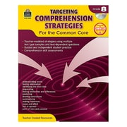 "Teacher Created Resources ""Targeting Comprehension Strategies for the Common Core"" Book, Grade 8th"