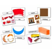 North Star Teacher Resources Flash Card, Colors & Shapes Language
