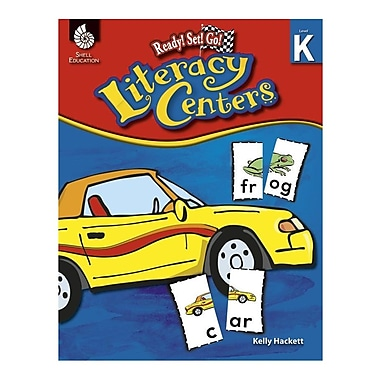 Education ready set go literacy center book grade k staples