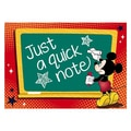 Eureka® 4in. x 6in. Post Card, Mickey Teacher