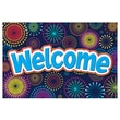 """Teacher Created Resources 4"""" x 6"""" Welcome Post Card, Fireworks"""
