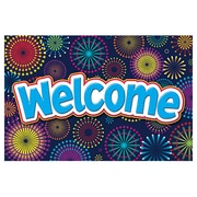 "Teacher Created Resources 4"" x 6"" Welcome Post Card, Fireworks"