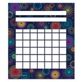 Teacher Created Resources 5 1/4in. x 6in. Mini Incentive Chart, Fireworks