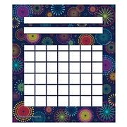 "Teacher Created Resources 5 1/4"" x 6"" Mini Incentive Chart, Fireworks"