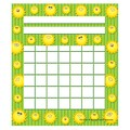 Teacher Created Resources 5 1/4in. x 6in. Mini Incentive Chart, Happy Suns