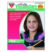 Newmark Learning Intervention Activities Book, Grade 4