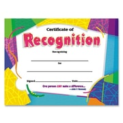 Trend Enterprises® Colorful Classics Certificate, Certificate of Recognition