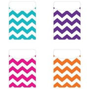Top Notch Teacher Products Teaching Chevron Peel & Stick Pocket, 25/Pack