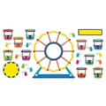 Trend Enterprises® Bulletin Board Set, Ferris Wheel Job Chart Plus