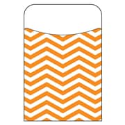 Trend Enterprises® Looking Sharp Orange Terrific Pocket, 40/Pack