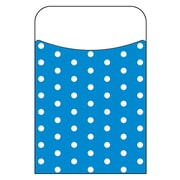 Trend Enterprises® Polka Dots Blue Terrific Pocket, 40/Pack