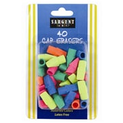 Sargent Art® 40-Count Cap Eraser, Assorted