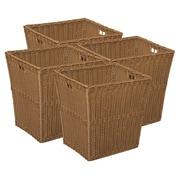 Wood Designs™ Medium Wicker Basket, 4/Set