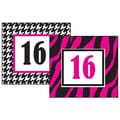 Teacher Created Resources 3 1/4in. x 2 3/4in. Double Sided Calendar Card, Rocker Chic