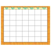 """Trend Discovering 22"""" x 28"""" Wipe-Off® Monthly Calendar, Dinosaurs™"""