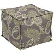 Office Star Ave Six® Fabric Aspen Pouf Ottoman, Sweden Amethyst