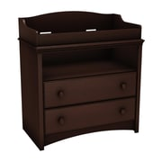 "South Shore™ Angel 40"" Laminated Particleboard Changing Table, Espresso"