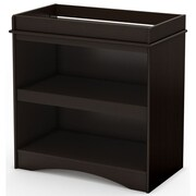 South Shore Peek-a-boo Laminate Changing Tables, Espresso (3559334)
