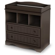 South Shore Savannah Wood Changing Tables, Espresso (3519330)