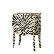 Monarch Bombay 2-drawer MDF Chest Zebra