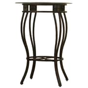 Boraam 36 Metal Beau Counter Height Pub Table, Black/Gold