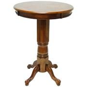 """Boraam 42"""" Solid Wood Florence Pub Table, Walnut"""