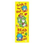 Eureka® Dr. Seuss™ Grab Your Hat Bookmark, Grade PreK - 3rd