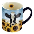 LANG® 14 oz. Lowell Herrero Coffee Mug, Surrounded By Sunflowers