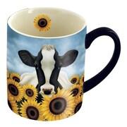 LANG® 14 oz. Lowell Herrero Coffee Mug, Surrounded By Sunflowers