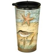 LANG® 16 oz. Susan Winget Travel Mug, Sand Piper