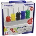 Miniland Educational 50 Piece Abacolor Shapes
