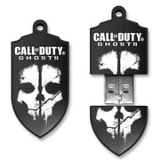 EP Memory Call of Duty Black OPS II COD-GHOSTS/16GB USB 2.0 Flash Drive, Black/White
