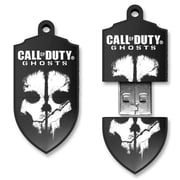 EP Memory Call of Duty CODGHOSTS/8GB USB 2.0 Flash Drive, Black/White