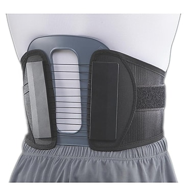 Cybertec Flex Power Plus Back Spine Brace, Black, XL