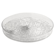 InterDesign® Rain Cosmetic Spinner, Clear