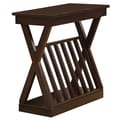 Monarch Accent Table 24in.H x23in.W x12in.D Wood Walnut