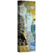 "ArtWall ""Water Serpents Blonde"" Gallery Wrapped Canvas Arts By Gustav Klimt"