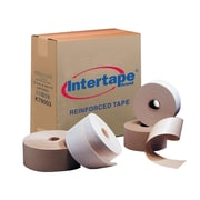Intertape Light Duty White Reinforced Tape, 70 mm x 450', 10 Rolls