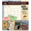 LANG® Avalanche Note Nook® Vintage Holidays 2015 Pocket Wall Calendar