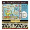 LANG® Avalanche Plan-it® Color My World 2015 Magnetic Mount Wall Calendar