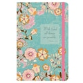 LANG® Turquoise Floral Classic Writing Journal, 8 1/4in. x 6in.