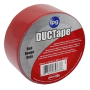 "Intertape® Jobsite AC20 General Utility Duct Tape, 1.88"" x 20 yds, Red, 36 Roll"
