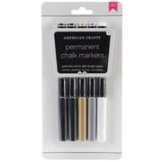 American Crafts Bold, Medium Point Permanent Marker, Assorted, 5/Pack